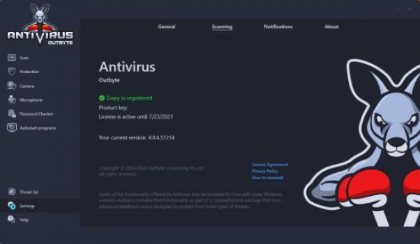 OutByte Antivirus 4.0.7.59141 Crack With Activation Key Latest 2021