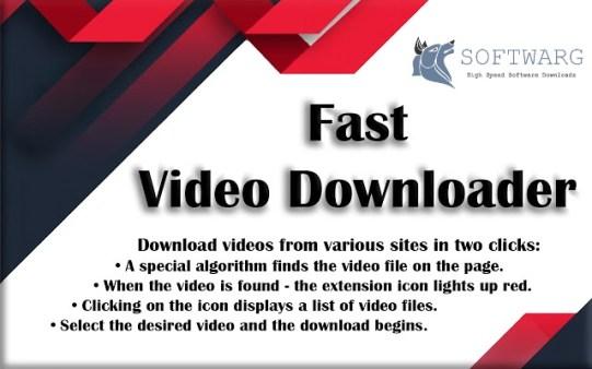 Fast Video Downloader 3.1.0.90 Crack + License Key Download Free