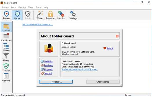 Folder Guard 21.4.0 Crack With License Key 2021 Free Download