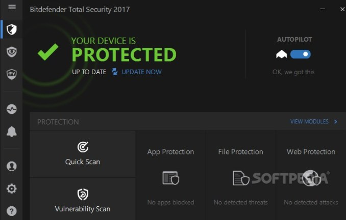 Bitdefender Total Security 2020 Crack + Serial key Full Free [Lifetime]