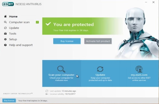 ESET NOD32 Antivirus License Key