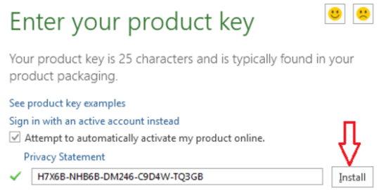 office 16 product key