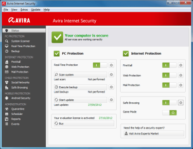 Avira Internet Security 2018 Crack