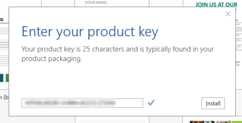 Windows Office 2013 Product Key