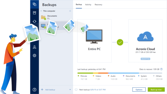 Acronis True Image 2020 Crack Key (Fixed Issues) Download