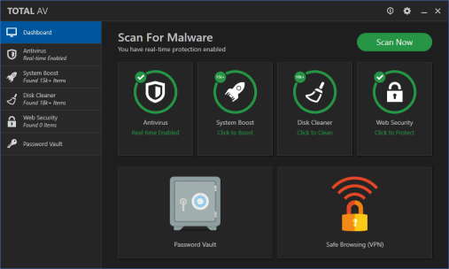 Total AV Antivirus 2020 Crack Plus Serial Key Full Version