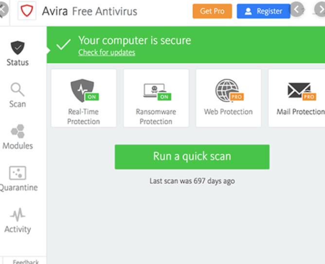 Avira Antivirus Pro Key 15.0.1908.1579 Crack + Activation Key