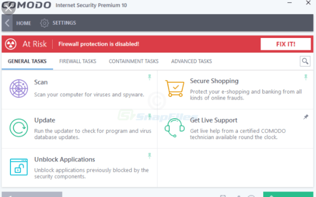 Comodo Internet Security Premium 12.1.0.6914 Crack + License KEYS Free