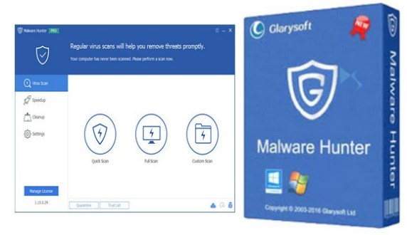 GlarySoft Malware Hunter Pro 1.92.0.681 Full Crack + License KEY 2020