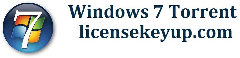 Windows 7 Torrent 32 & 64 Bit (Free ISO Files)