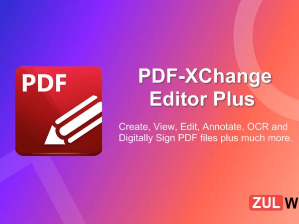 PDF XChange Editor Plus 8.0.340.0 Crack + License key Patch [Latest]