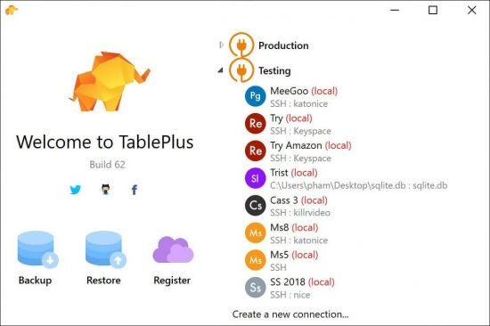 TablePlus 4.6.2 Crack With License Key Free Download 2022