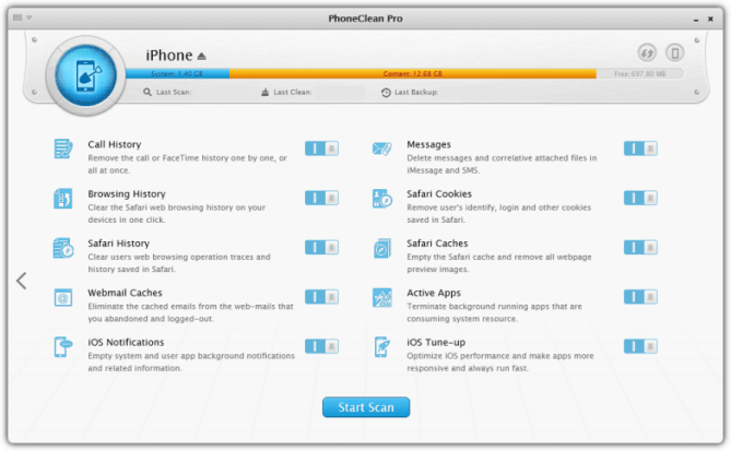 PhoneClean 5.6.0 Crack With Serial Key (Torrent) Download