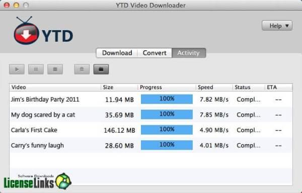 YTD Video Downloader Pro crack 20199