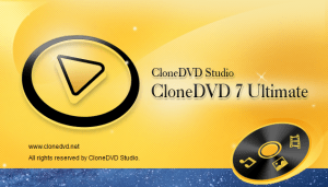 CloneDVD 7 Ultimate Crack With Serial Key Latest Version