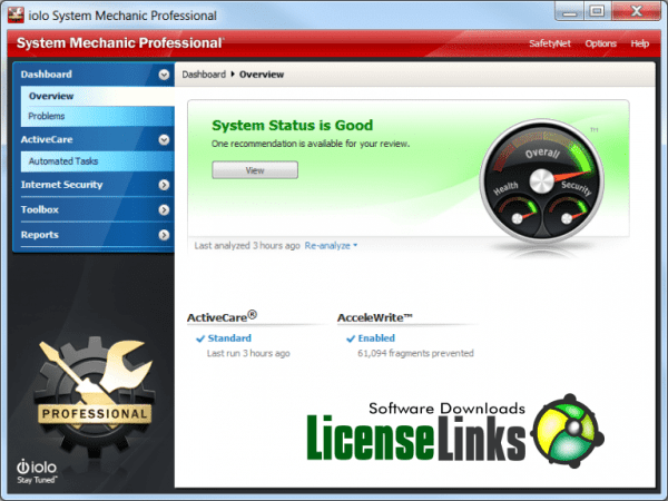 System Mechanic PRO 20.0.0.4 Crack + Activation Key 2020 [New]
