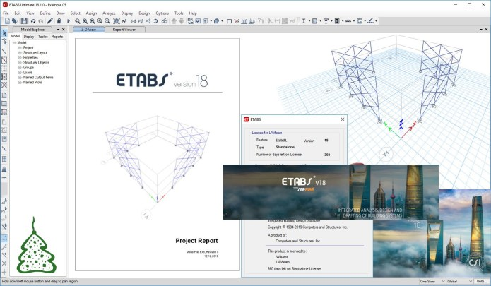 CSI Etabs v19.0.2 Crack + Patch Free Download 2021 [Till 2050]