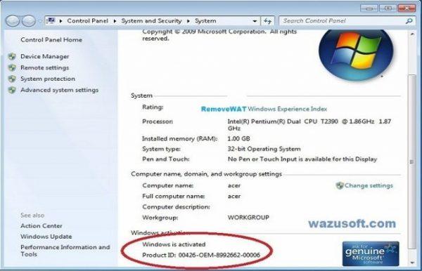 Removewat Crack 2.2.9 & Activation Key All Windows Latest 2020