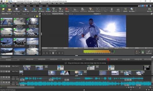 NCH VideoPad Video Editor Pro Crack Beta 8.91 & Keygen Latest