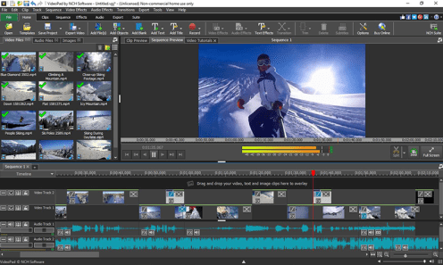 NCH VideoPad Video Editor Pro Crack Beta 8.91 & Keygen Latest