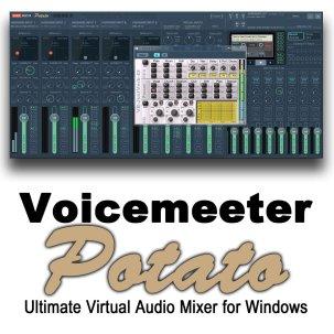 VoiceMeeter Potato 3.0.1.4 Crack + License Key Latest [2021]