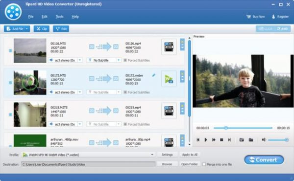 Tipard HD Video Converter Crack 10.0.18 + Serial Key [Latest] 2021