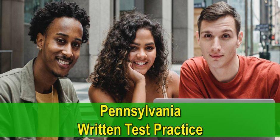 Pennsylvania PA Written Test Practice - Photo by William Fortunato