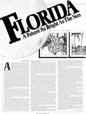 """Florida, A Future As Bright As The Sun,"" Says Billboard (1976)"