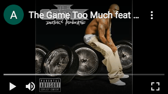 """Featured Sample –  The Game feat. Nate Dogg """"Too Much"""""""