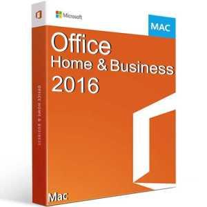 Office 2016 Home and Business pentru MAC