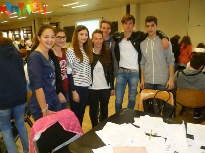 Letizia Polacco (IVA), Giulia Magnaterra (1I), Giulia Braccialarghe (IVA), Camilla Lucamarini (IVA), Riccardo Mosca (IVA), Leonardo Baldoni (4E), Nicola Calcabrini (4E)