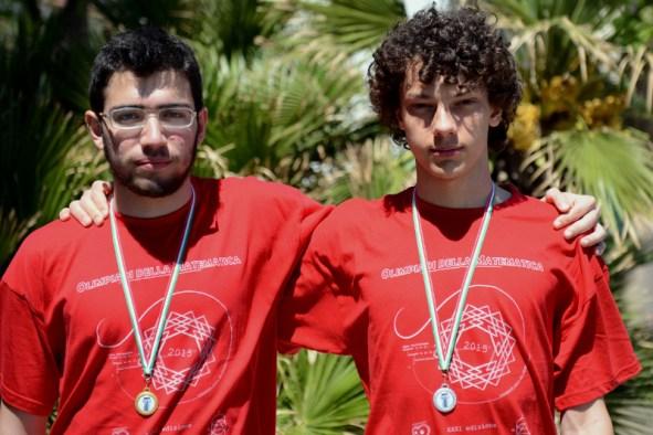 Edoardo Siniscalco e Lorenzo Demeio, oro e argento 2015