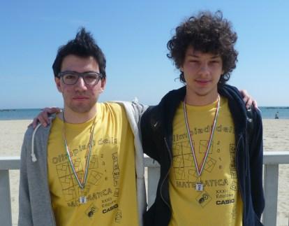 Edoardo Siniscalco e Lorenzo Demeio, oro e argento 2016