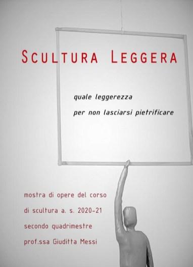 locandina scultura