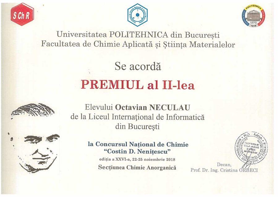 Octavian Neculau-C.D.Nenitescu