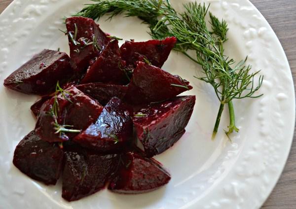 Dill Beet Salad (AIP/Paleo/Sugar-Free)