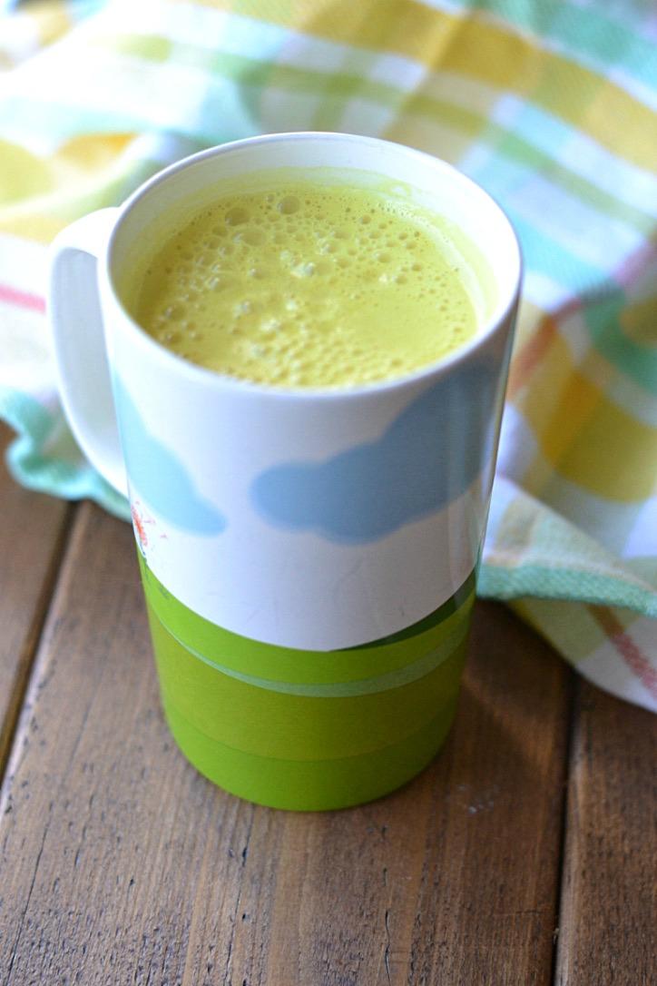 Sunny Healing Latte (AIP/Paleo/Refined Sugar-Free)