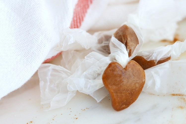 Cinnamon Heart Taffy (AIP/Paleo)