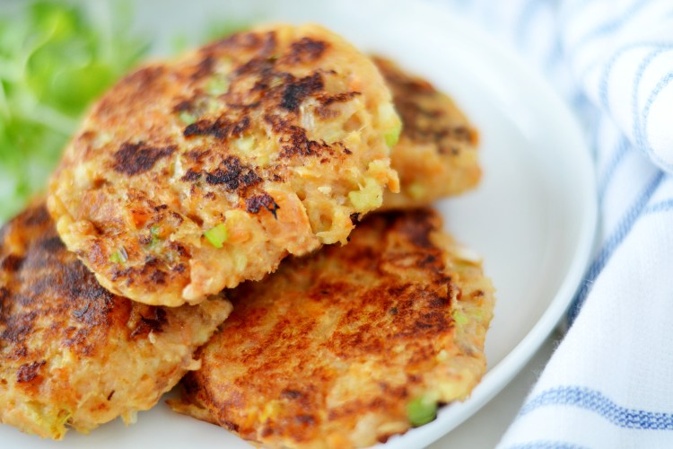 Sweet Potato Salmon Patties (AIP/Paleo/Whole30)