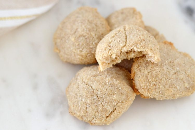 AIP Keto cookie with bite
