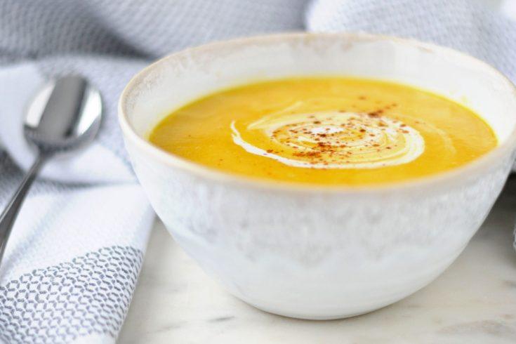Instant Pot Butternut Squash Soup (AIP/Paleo/Whole30/Low-Carb)