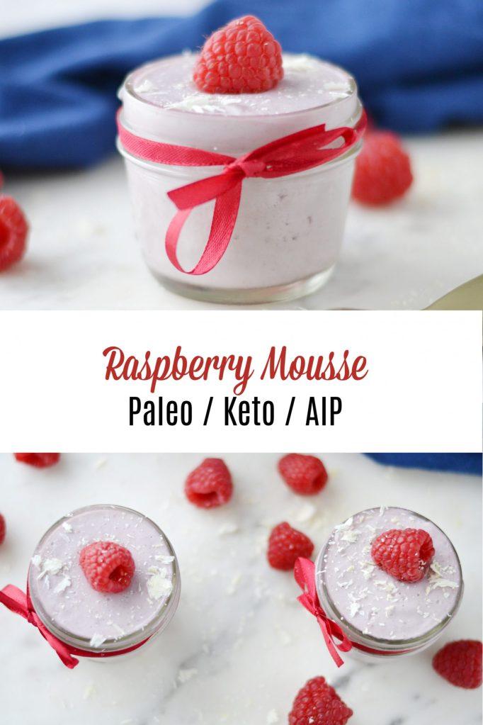 Raspberry Mousse (Paleo / Keto / AIP)