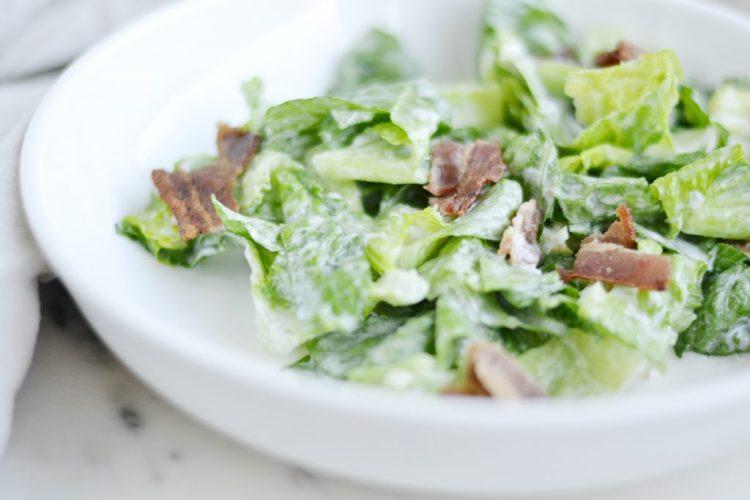 Caesar Salad Dressing (AIP/Paleo/Whole30/Keto)