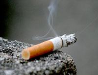 A cigarette. Pic: Raul Lieberwirth