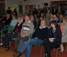 A Streethay Against Development meeting. Pic: Harry Warburton