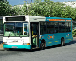 An Arriva bus. Pic: kenjonbro