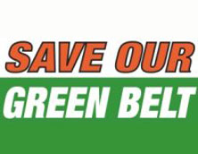 Burntwood Action Group's Save Our Green Belt logo