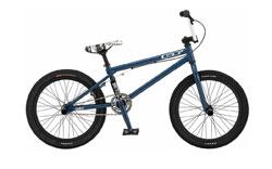 A blue GT BMX bike similar to the one stolen
