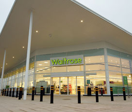 The Lichfield Waitrose store