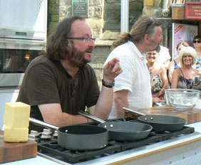 The Hairy Bikers in Lichfield